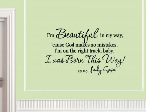 Beautiful In My May Cause God Makes No Mistakes - Beauty Quote