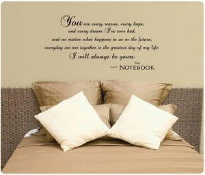 Famous quotes from the notebook movie