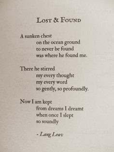 lost found # poems # quotes # love more life quotes poems lang leaves ...