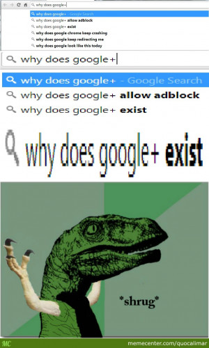 Philosoraptor Doesn't Have The Answer You Seek