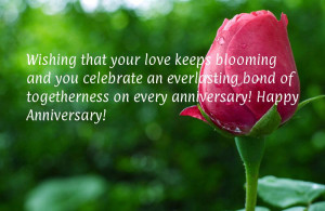 ... bond of togetherness on every anniversary! Happy Anniversary