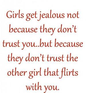 Girls get jealous