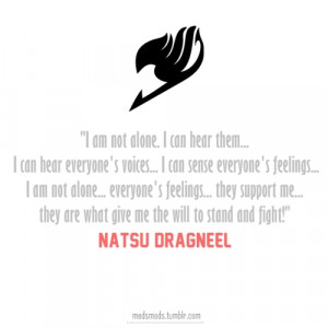 Displaying (15) Gallery Images For Natsu Dragneel Quotes...