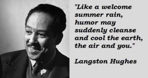 Langston hughes famous quotes 3