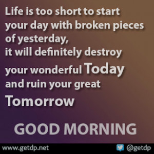 Inspirational and Good Morning Quotes