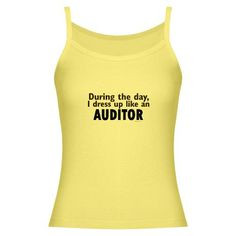 Dress Up Like An Auditor Women's Tank Top on