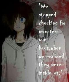 Gallery For > Creepypasta Anime Jeff The Killer