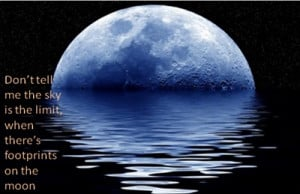 Blue Moon Quote