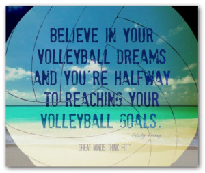 volleyball hitter sayings