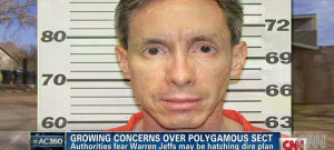 ... jailed cult leader Warren Jeffs prepare for end of the world TONIGHT