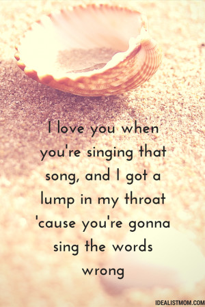 ... Quotes About Being in Love – From the Best Unknown Love Songs