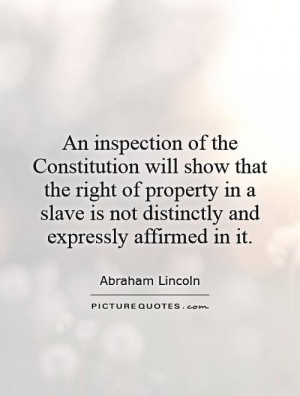 Abraham Lincoln Slavery Quotes