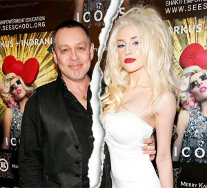 ... , 19, Splits With Doug Hutchison, 53, After Two Years of Marriage