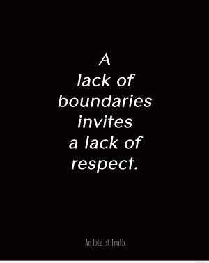 Boundaries respect quote 2015