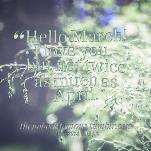 April Quotes