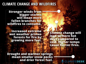 Yosemite Is Burning...Here's How Climate Change Makes Wildfires Worse