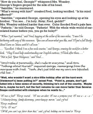 Weasley Twin Quotes 3 by elfgirlunltd