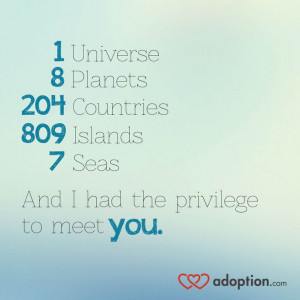 ... to meet YOU. #adoption #internationaladoption #fostercare #orphans