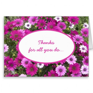 Employee Appreciation Thank You Card