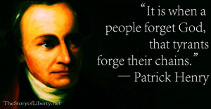 Patrick Henry Quotes On Freedom