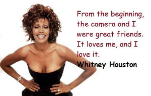 Whitney houston famous quotes 1