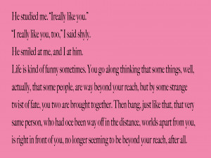Mean Quotes About Ex Boyfriends Few quotes from the book.