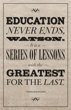 Education - Formal & Informal.