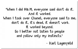 ... popular tags for this image include: karl lagerfeld, life and quote