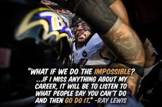Our legendary Ray Lewis ♥