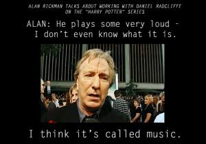 Alan Rickman being awesome