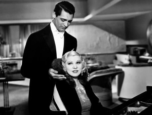 ... Grant and Mae West in I'm no Angel directed by Wesley Ruggles, 1933