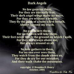 dark angels poem more angels zombies skull al gothic angels angels ...