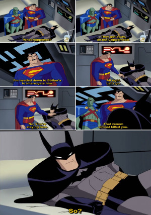 Justice League Animated Series Quote-5