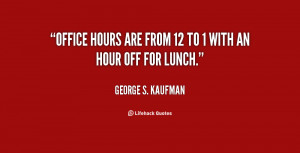 Office Lunch Quotes