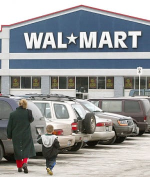 Wal-Mart Ceo H. Lee Scott Jr, stating that Wal-Mart has no plans to ...