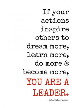 ... Quotes, Leadership Quote, Menu, John Quincy Adams Quotes, John Adam