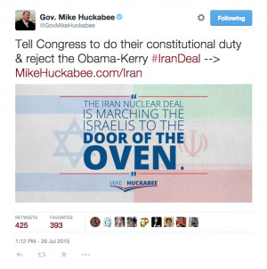 mike-huckabee-iran-deal-marching-israel-to-the-door-of-the-oven