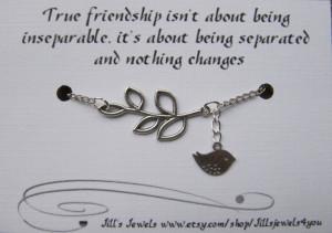 Friendship Distance Quotes Distance friendship charm