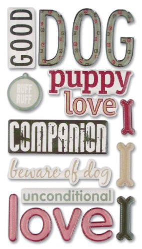 Dog Scrapbooking Paper, Quotes and Stickers - Most Items Eligible for ...