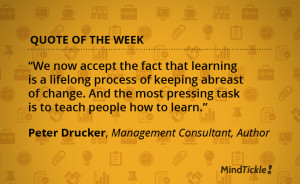 Quote of the Week: Peter Drucker on Keeping Up With Change