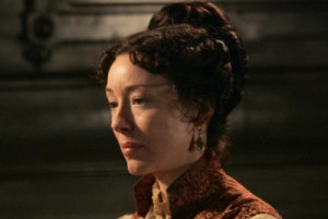 Widow of claim seeker, later married to prospector Whitney Ellsworth.