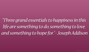Joseph Addison Quote