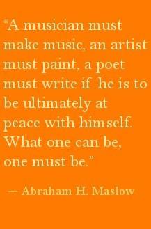Maslow quote