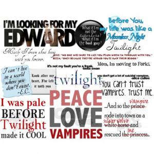 Twilight Saga Quotes - Polyvore