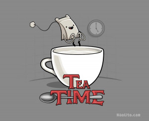 Tea Time by Naolito
