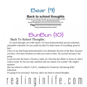 Going Back To School Quotes Two more back-to-school