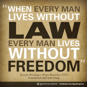 law and freedom relationship