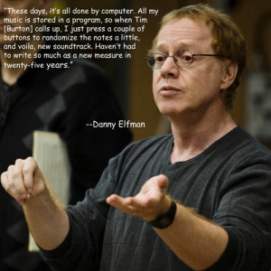 Danny Elfman - Efficiency Enthusiast