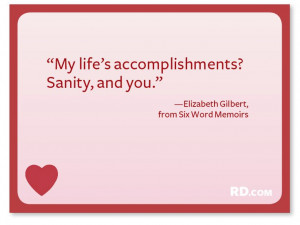 elizabeth gilbert quotes   That's Amore: Sweet and Funny Love Quotes ...