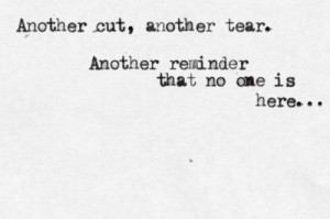Emo Quotes About Cutting Tumblr I'll cut till i die .